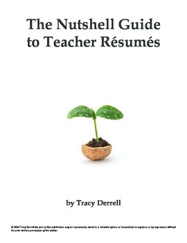 The Nutshell Guide to Teacher Résumés