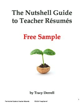 The Nutshell Guide to Teacher Résumés FREE SAMPLE