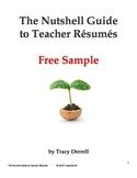 The Nutshell Guide to Teacher Résumés FREE SAMPLE
