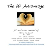 The OG Advantage VIRTUAL Visual Card Pack for DISTANCE LEARNING