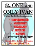 The ONE AND ONLY IVAN CCSS 340 Page Novel Study Unit