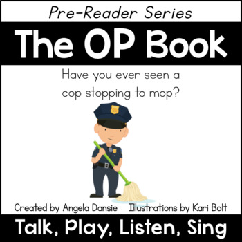 The OP Book and Games (Word Family Pre-Reader Series)