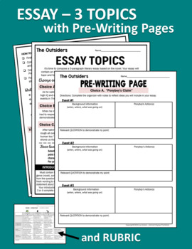 Essay Questions