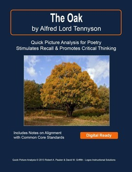 """""""The Oak"""" by Alfred Lord Tennyson: Quick Picture Analysis"""