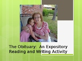 The Obituary:  A PowerPoint Presentation on an Expository