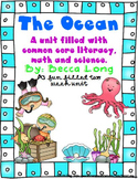The Ocean - A 2 Week Unit Fun  Filled With Comon Core Science, Math & Literacy