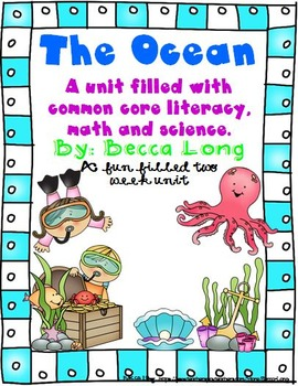 The Ocean - A 2 Week Unit Fun  Filled With Comon Core Scie