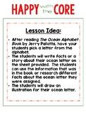 The Ocean Alphabet Book Fact Sheet