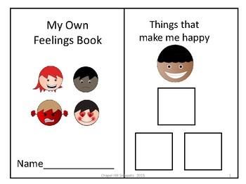 My Own Feelings Book