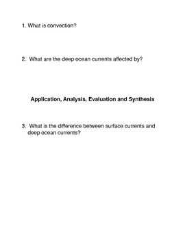 The Ocean Currents and the Next Ice Age Common Core Activity