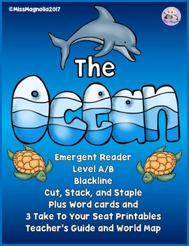 The Ocean Emergent Reader Level A/B