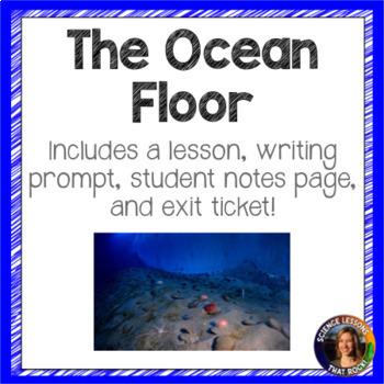 The Ocean Floor SMART notebook presentation