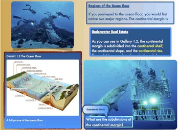 The Ocean Floor iBook