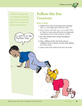 The Ocean: Outdoor Activity and Two Rhymes