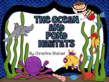 The Ocean & Pond Habitats/Biomes
