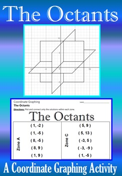 The Octants - A Coordinate Graphing Activity