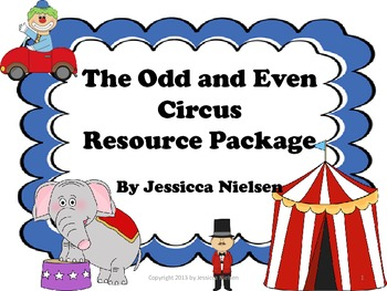 The Odd and Even Number Circus Resource Package