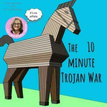 The Odyssey: 10 Minute Trojan War : Pre-reading activity