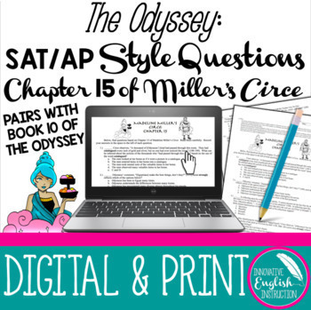 The Odyssey Ap Style Questions Based On Chapter 15 Of Madeline Miller S Circe