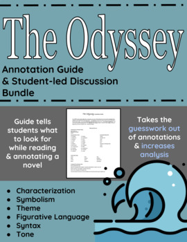 The Odyssey Annotation Guide and Student-led Discussion Bundle