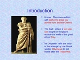 The Odyssey Background PowerPoint