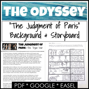The Odyssey Background and Introduction Activity