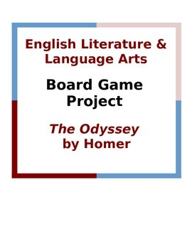 The Odyssey Board Game Project