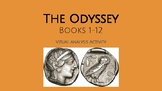 The Odyssey Books 1-12 Visual Analysis