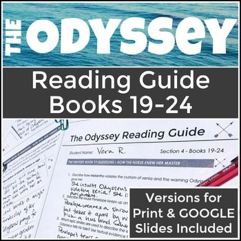The Odyssey Books 19-24 Reading Guide & Theme Analysis
