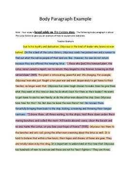 Character traits essay
