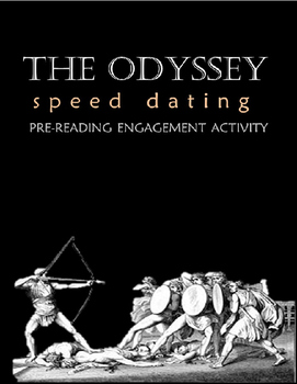 The Odyssey Character Speed Dating Pre-Reading Engagement Activity