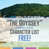 The Odyssey Characters Freebie