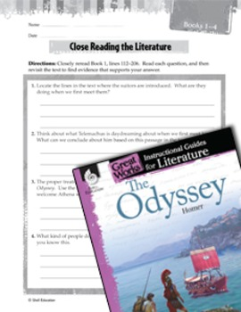 The Odyssey Close Reading and Text-Dependent Questions