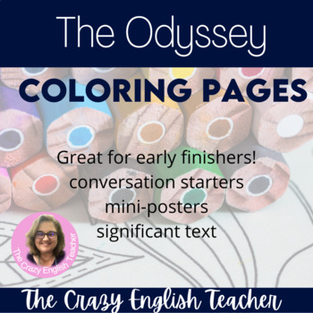 The Odyssey Coloring Pages: Mini Posters