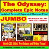 The Odyssey Complete Epic Notes PowerPoint JUMBO