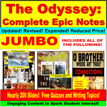 The Odyssey Complete Epic Notes Bundle