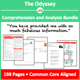 The Odyssey – Comprehension and Analysis Bundle