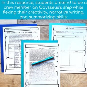 The Odyssey Crew Member Log