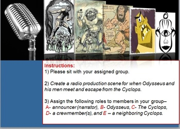 The Odyssey Cyclops Radio Production