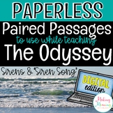 """The Odyssey Digital Paired Passages - Sirens and """"Siren Song"""""""