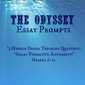 The Odyssey Essay Assignment