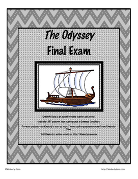 The Odyssey Final Exam Test