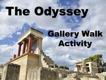 Odyssey Gallery Walk: Writing, Art and Image Analysis for