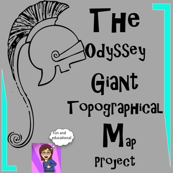 The Odyssey: Giant Topographical Map Project