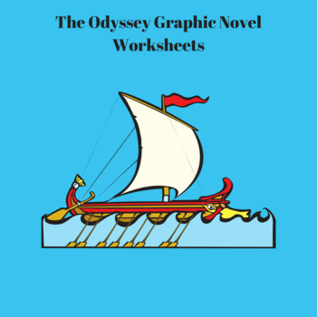 The Odyssey Graphic Novel by Gareth Hinds Worksheets for Entire Book