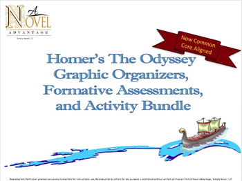 The Odyssey ~ Common Core Aligned Activity Bundle