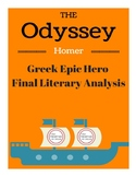 The Odyssey- Greek Epic Hero Paper with Example and Rubric
