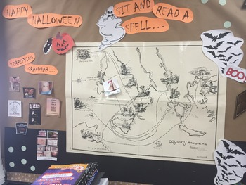 The Odyssey/Halloween Bulletin Board