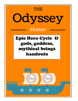 The Odyssey Handouts for the Novel-Freshman
