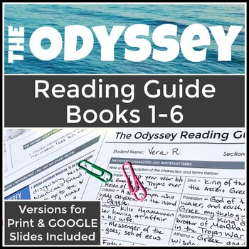 The Odyssey High School Reading Guide Books 1-6, Part One